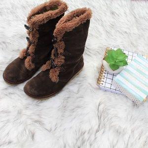 Earth Wyandot Sherpa Women's Boots Size 8